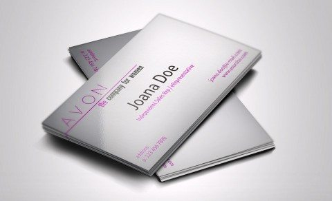 sell avon-representative-business-cards