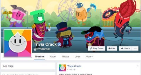 facebook business page trivia