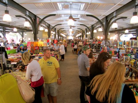 how to become a flea market vendor at an indoor marketplace