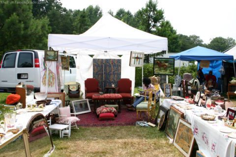 How can you get started as a flea market vendor?
