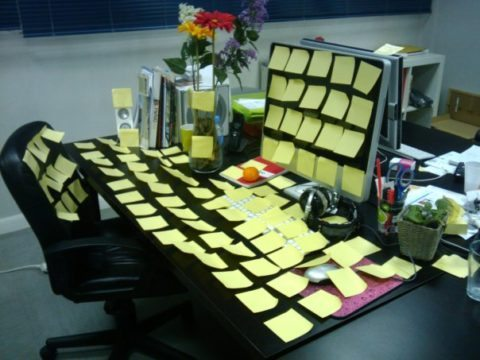 Walk Sideways To The Photocopier Fun At Work Sticky Notes