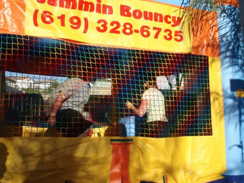 home based business opportunity bounce house