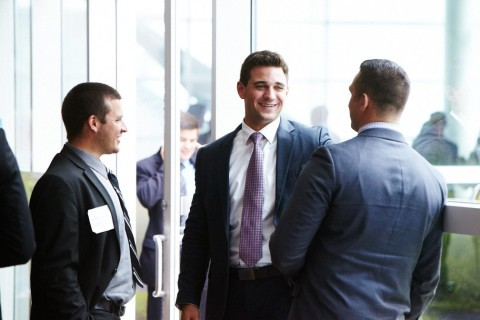Utilize your personality when you attend a networking event